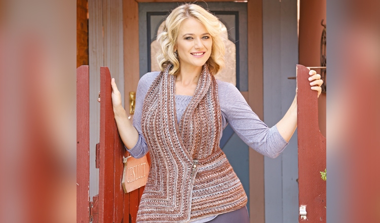 Knit an easy waistcoat
