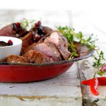 Celeb food: Adam Barnard – Ostrich fillet with chocolate chilli sauce