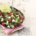 Celeb food: Anna Davel – Biltong and goat milk cheese salad