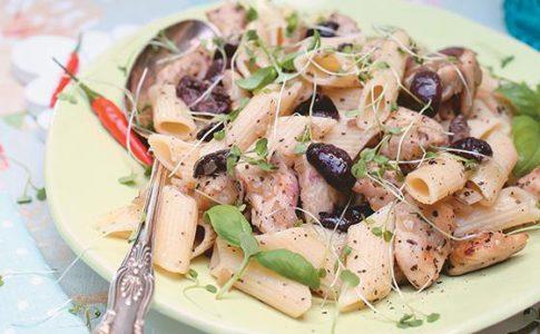 pasta olives