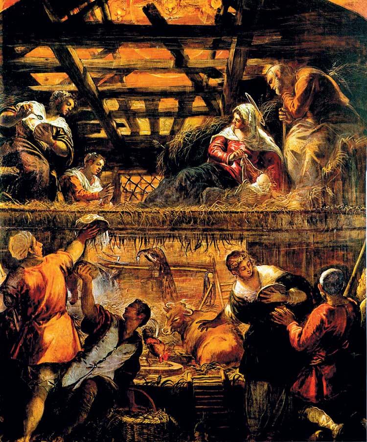 nativity geboortetoneel