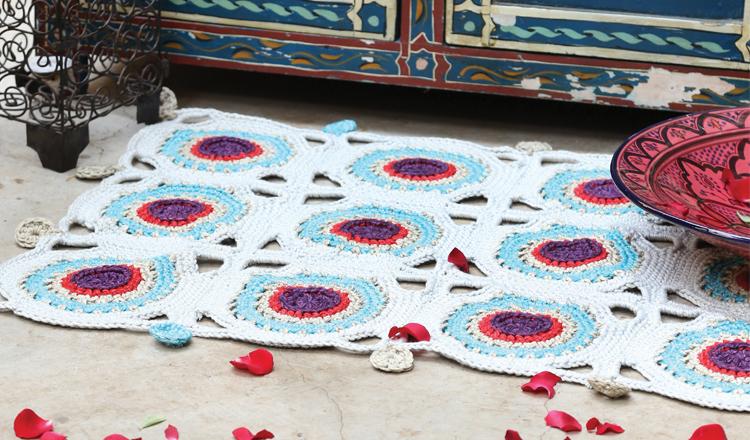 Hekel 'n Marokkaanse teëlmat