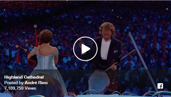 VIDEO: Highland Cathedral van André Rieu in Maastricht